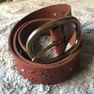 LUCKY BRAND Boho Leather Belt